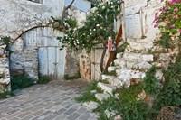 Old door, Chania, Crete, Greece by Adam Jones - various sizes, FulcrumGallery.com brand