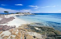 Greece, Halkidiki Peninsula, Karydi Beach Fine Art Print