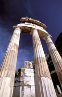 Temple of Athena, Tholos Rotunda, Delphi, Fokida, Greece Fine Art Print