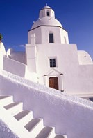 White Architecture, Santorini, Greece Fine Art Print