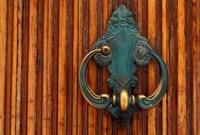 Door Knocker, Santorini, Greece by Keren Su - various sizes