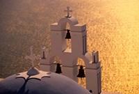Kimisis Theotokov Church, Santorini, Cyclades Islands, Greece by Walter Bibikow - various sizes - $42.99