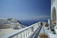 Thira and the Caldera, Santorini, Cyclades Islands, Greece by Michele Molinari - various sizes