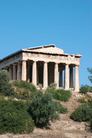 Temple of Hephaestus, Ancient Architecture, Athens, Greece Fine Art Print