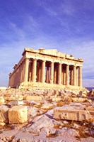 Parthenon on Acropolis, Athens, Greece Fine Art Print