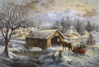 Covered Bridge by Nicky Boehme - various sizes