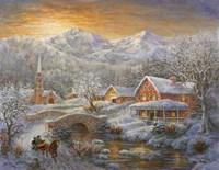Winter Merriment Fine Art Print