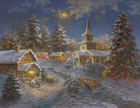 Happy Spirits Await Christmas by Nicky Boehme - various sizes