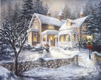 Winter's Welcome Fine Art Print