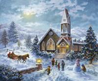 Parents Pray, Children Play Fine Art Print
