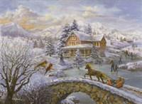 Winter Joy Fine Art Print