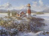 Lighthouse Bluff by Nicky Boehme - various sizes