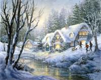 Winter Frolic Fine Art Print