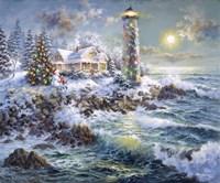 Lighthouse Merriment Fine Art Print