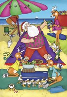 Santa's Picnic by Frank Spear - various sizes