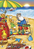 Beach Barbecue by Frank Spear - various sizes