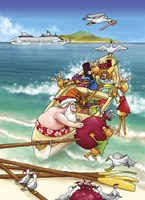 Surf Boat by Frank Spear - various sizes - $19.99