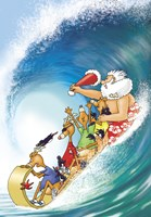 Sleigh Skid Wave by Frank Spear - various sizes