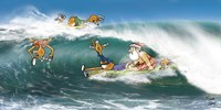 Surfing Fine Art Print