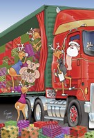 Santa's Truck by Frank Spear - various sizes