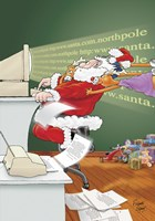 Internet Santa by Frank Spear - various sizes - $13.49