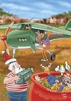 Loading Aeroplane Fine Art Print