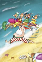 Surf's Up by Frank Spear - various sizes, FulcrumGallery.com brand