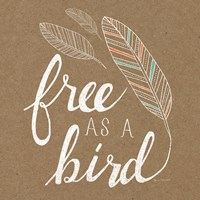 Free as a Bird by Laura Marshall - various sizes