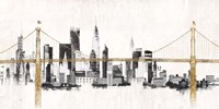 Bridge and Skyline Fine Art Print