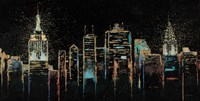 Cityscape by James Wiens - various sizes, FulcrumGallery.com brand