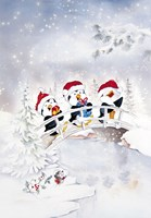 Penguin Christmas Carol by DBK-Art Licensing - various sizes