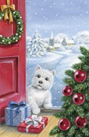 Puppy Watching Christmas Gifts by DBK-Art Licensing - various sizes