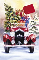 Christmas Tree Classic Car Ride II Fine Art Print