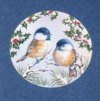 Birds and Mistletoe by DBK-Art Licensing - various sizes - $22.49