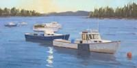 Morning on the Harbor Fine Art Print