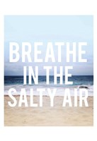 "Salty Air by Leah Flores - 13"" x 19"""