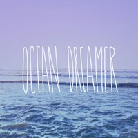 """Ocean Dreamer by Leah Flores - 12"""" x 12"""""""