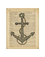Nautical Series - Anchor Fine Art Print