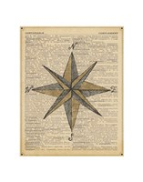 Nautical Series - Nautical Star Fine Art Print