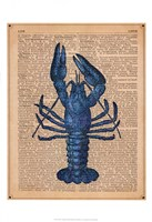 Vintage Lobster Fine Art Print
