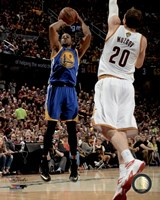 Andre Iguodala Game 6 of the 2015 NBA Finals Fine Art Print