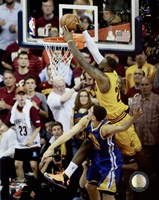 LeBron James Game 3 of the 2015 NBA Finals Fine Art Print