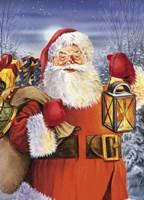 Santa Ready For Christmas Fine Art Print