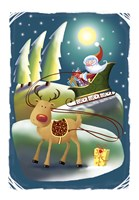Rudolph In The Lead by DBK-Art Licensing - various sizes