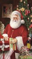 Santa's Gift Portrait Fine Art Print