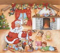 Santa's Gifts For The Kids by DBK-Art Licensing - various sizes