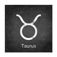 Taurus - Black Framed Print
