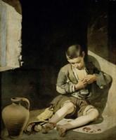 The Young Beggar Fine Art Print