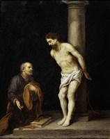 Christ at the Column Fine Art Print