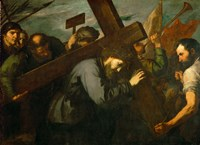 Christ Carrying the Cross, c. 1630 Fine Art Print